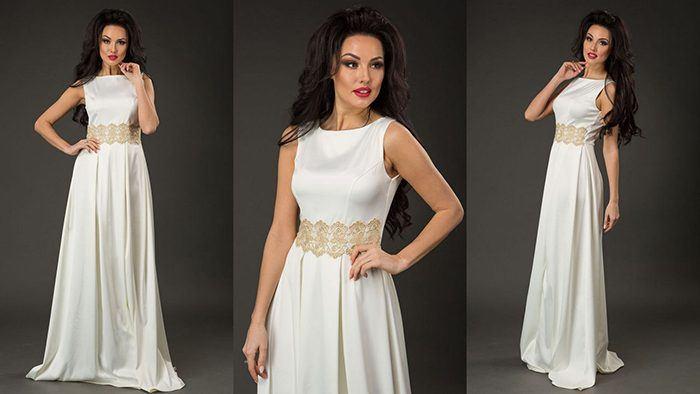 Модные белые вечерние платья – обворожительный образ